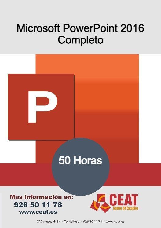 Microsoft Powerpoint 2016 Completo